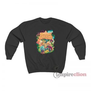 Welcome To Heroes Crossing New Adventures Sweatshirt