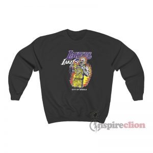 Warren Lotas Lakers City Of Angels Sweatshirt