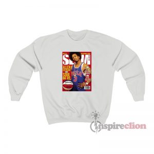 Allen Iverson Soul On Ice Slam Cover Sweatshirt
