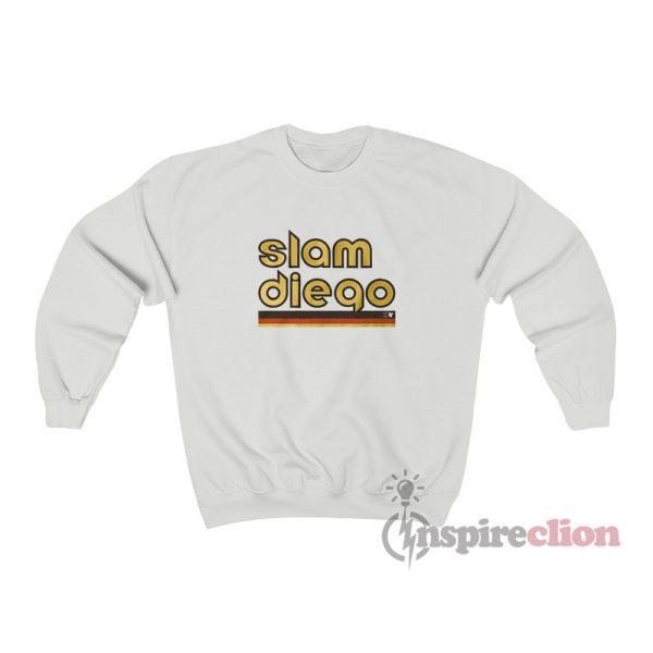 Slam Diego Baseball Sweatshirt