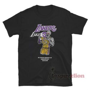 Warren Lotas Kobe Bryant Lakers Memorial T-Shirt