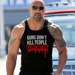 Guns Don't Kill People Clintons Tank Top