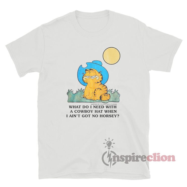 Vintage Garfield 1978 T Shirt For Sale Inspireclion Com