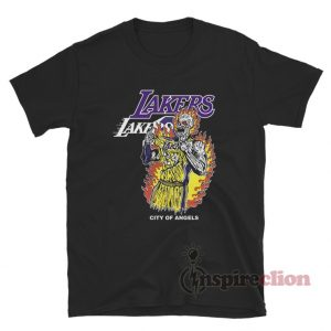 Warren Lotas Lakers City Of Angels T-Shirt