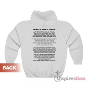 Nations Of The World Hoodie