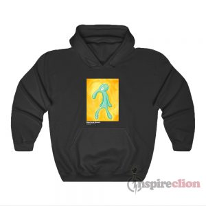 Bold And Brash Painting Squidward Tentacles Hoodie