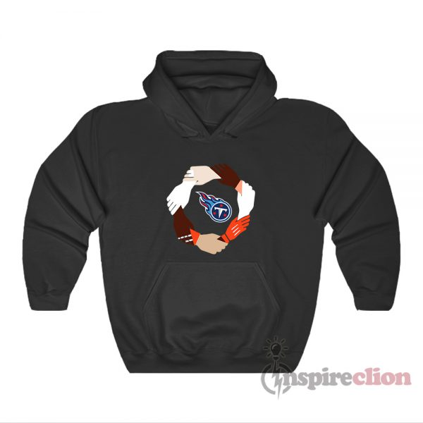 Tennessee Titans Hand By Hand Hoodie