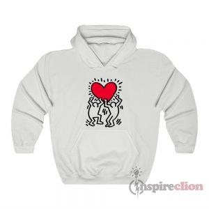 Keith Haring Big Love Hoodie