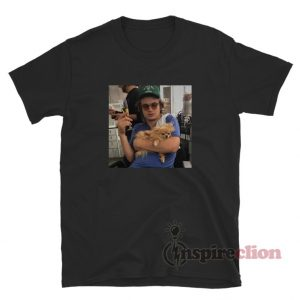 Joe Keery Dog Meme Photo T-Shirt