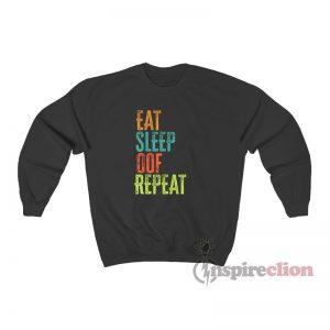 Eat Sleep Oof Repeat Sweatshirt