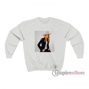 Taylor Swift Cowboy Hat Photoshoot Sweatshirt