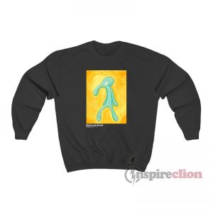 Bold And Brash Painting Squidward Tentacles Sweatshirt