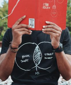 Book And Street Smart T-Shirt