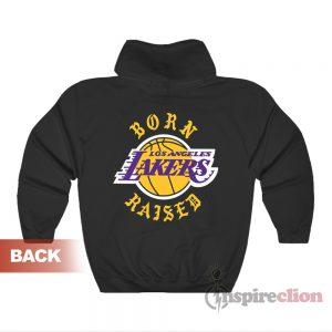 Born X Raised Los Angeles Lakers Hoodie