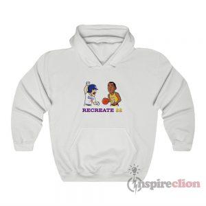 Recreate 88 Lakers Dodgers Hoodie