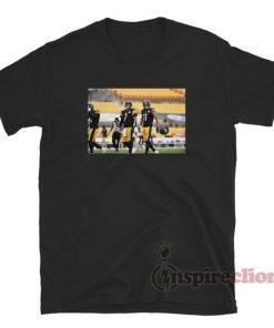 7/11 Ben Roethlisberger And Justin Hunter Pittsburgh Steelers T-Shirt