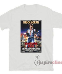 Chuck Norris Invasion USA Retro Poster Film T-Shirt