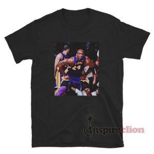 Kobe Bryant Defense Photos T-Shirt