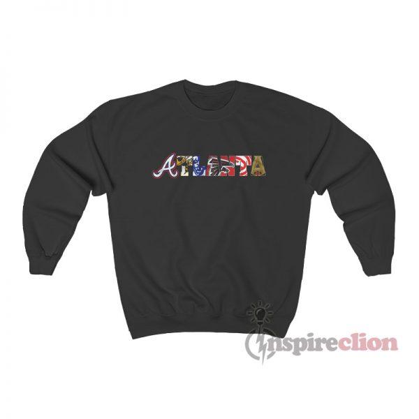 Atlanta Professional Sports Teams Sweatshirt