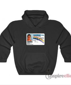 McLovin Hawaii Drivers License Hoodie