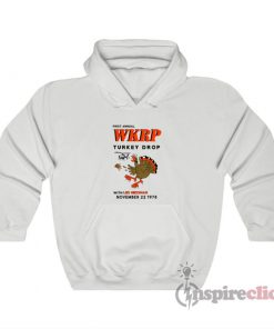 First Annual WKRP Turkey Drop Hoodie