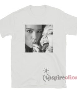 Miley Cyrus And Dua Lipa Prisoner T-Shirt