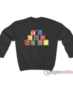 Bad Bunny YHLQMDLG Toy Blocks Sweatshirt